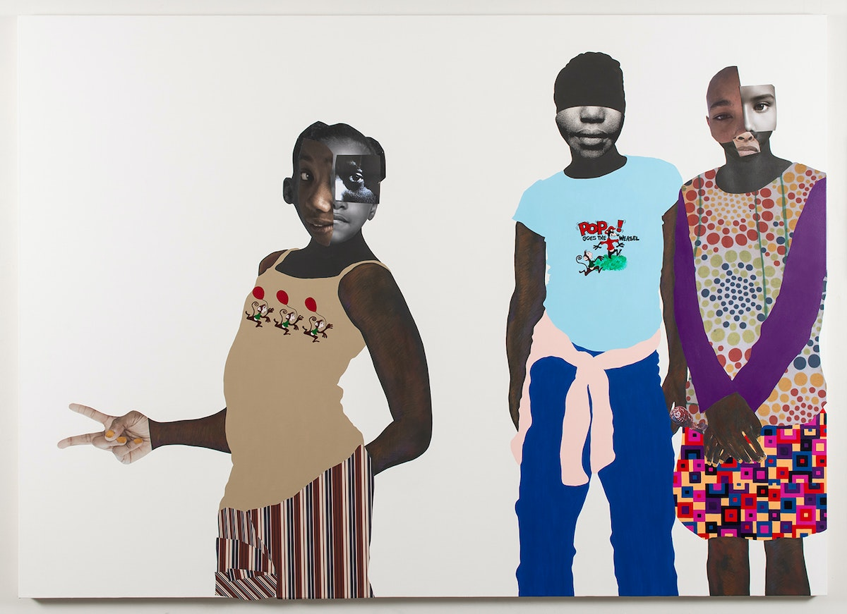 Deborah Roberts's Intricate and Thoughtful Depictions of Black Childhood