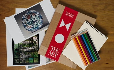 Art-making Kits Inspired by the Met Museum Delivered Monthly to NYC's Seniors